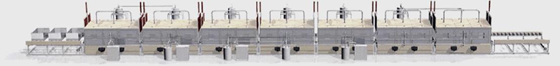 URC-2000 200ton 7 Continuous Process